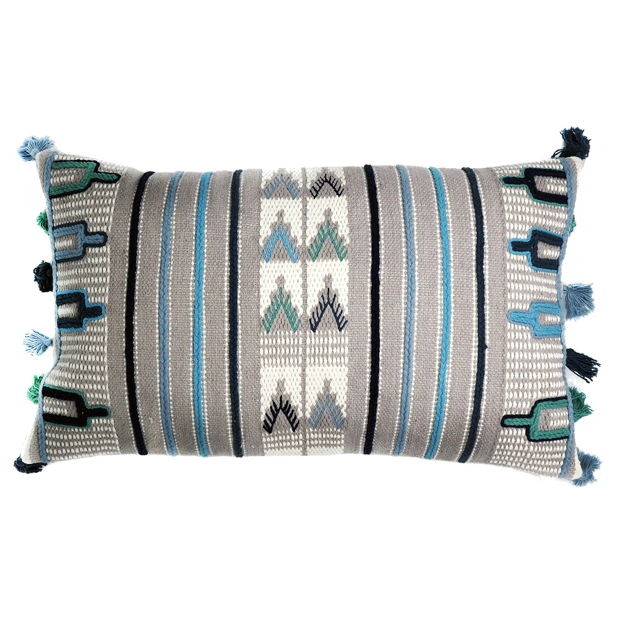 цена Чехол на подушку Tkano с этническим орнаментом Ethnic 30х60 онлайн в 2017 году