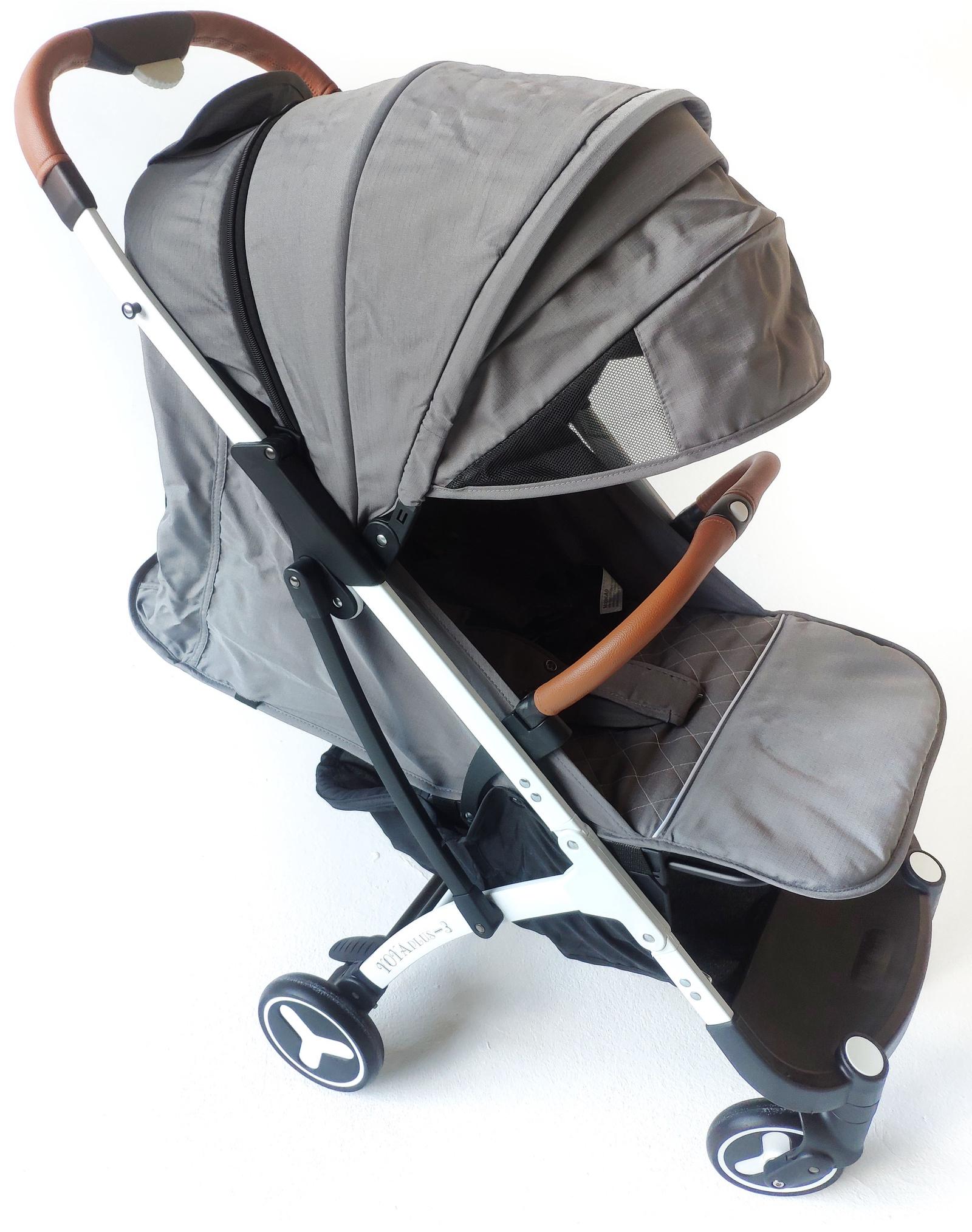 лучшая цена Детская коляска YOYA PLUS 3 2019 Long Серая