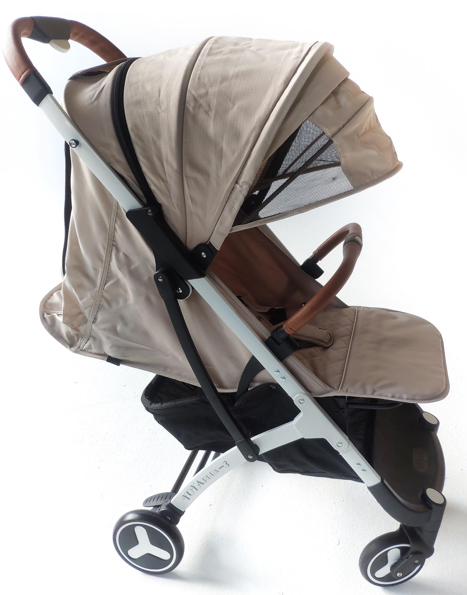 лучшая цена Детская коляска YOYA PLUS 3 2019 Long Бежевая