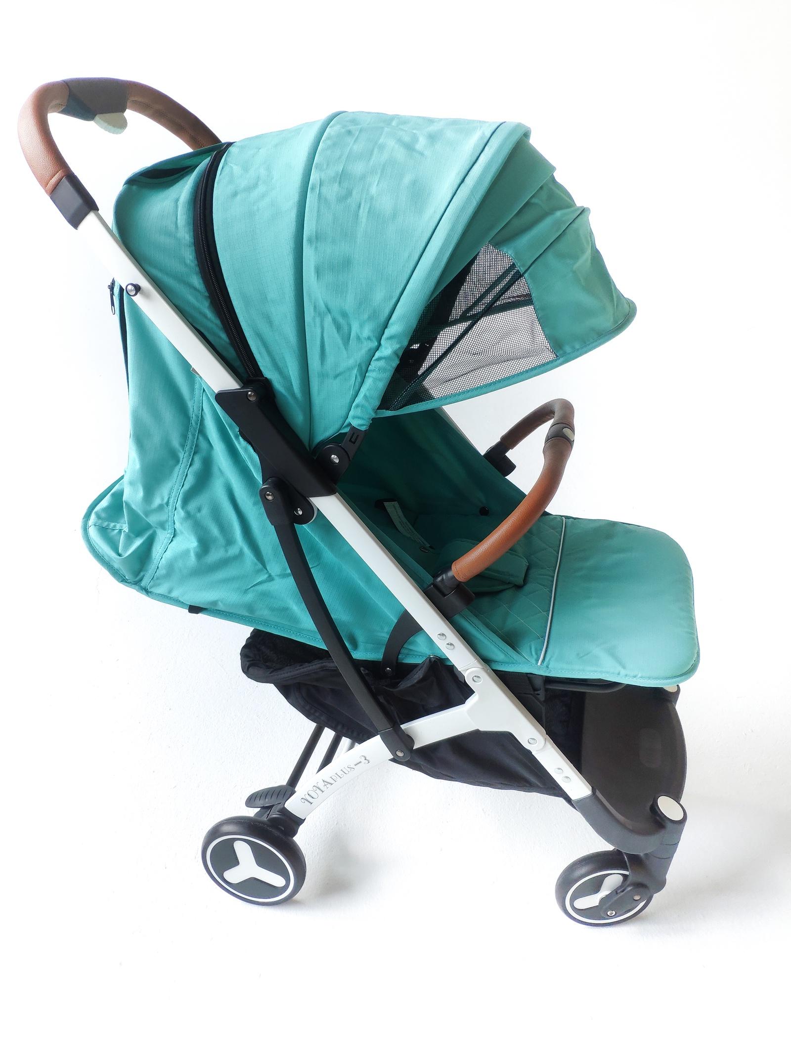 лучшая цена Детская коляска YOYA PLUS 3 2019 Long Бирюзовая