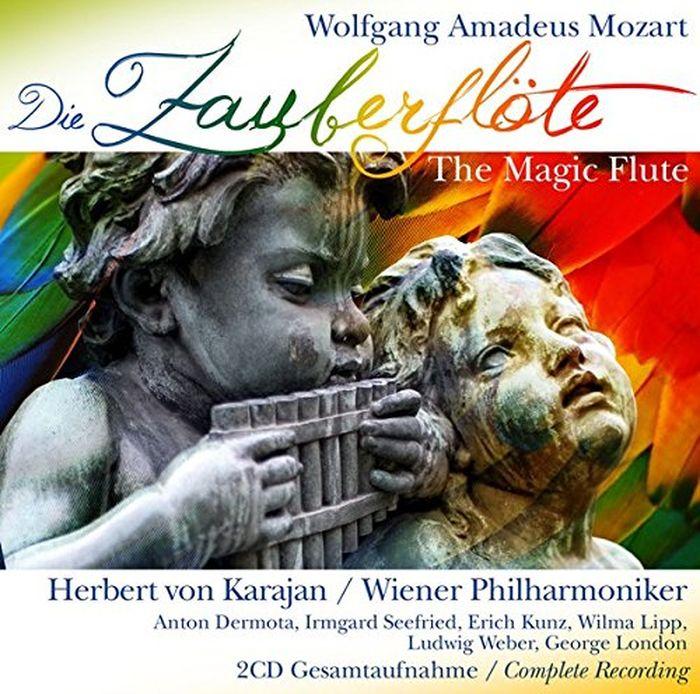 Herbert Von Karajan. Die Zauberflute, The Magic Flut (2 CD) jan becker aufgewuhltes wasser band i die flut