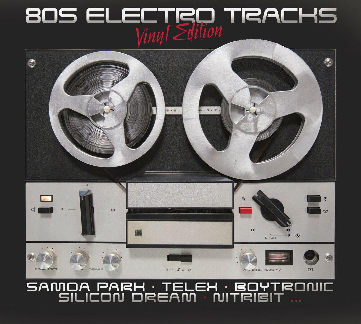 Various Artists. 80S Electro Tracks (LP) honest jons shangaan electro 2 lp