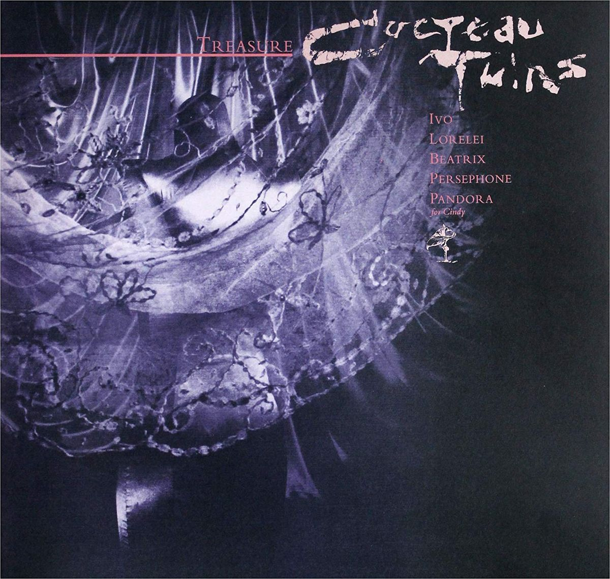 Cocteau Twins Twins. Treasure (Re-issue Edition) (LP)