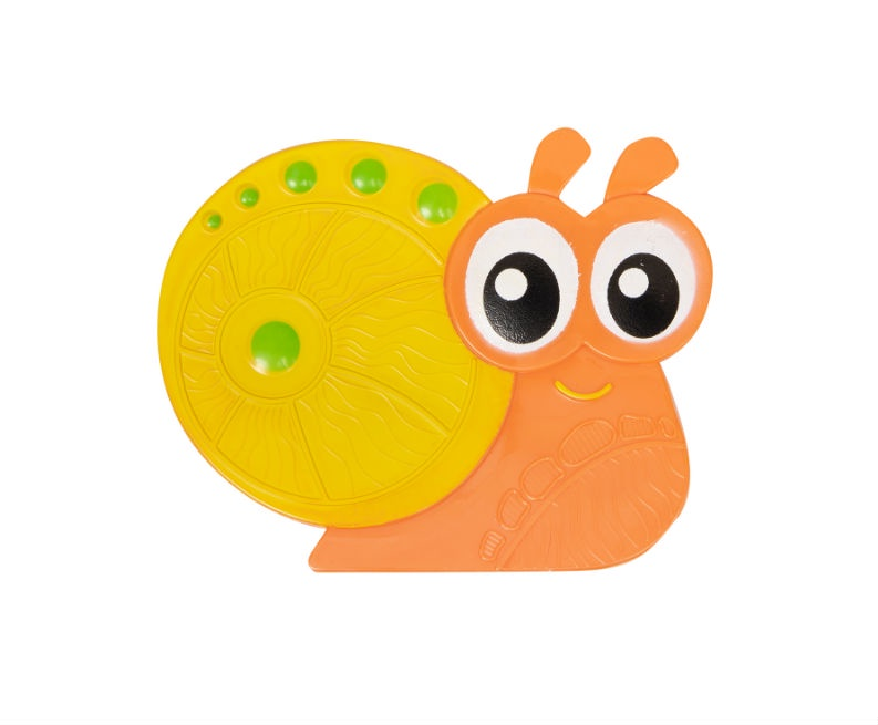 Мини-коврик для ванной комнаты УЛИТОЧКА оранжевая