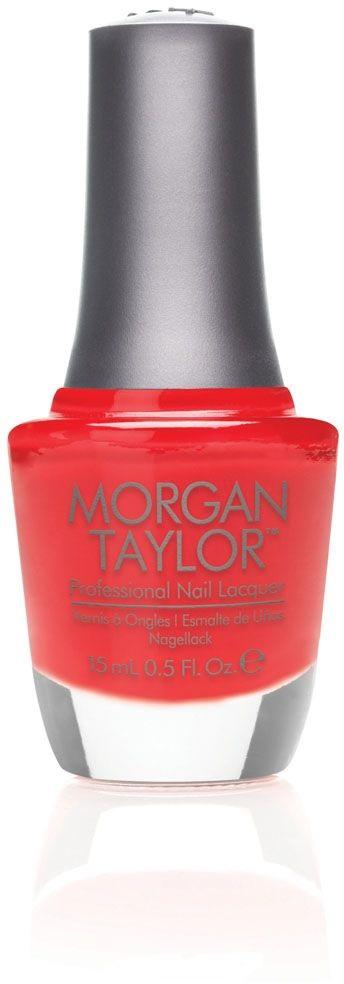 Morgan Taylor Лак для ногтей Bing Bing Red / Большой взрыв, 15 мл