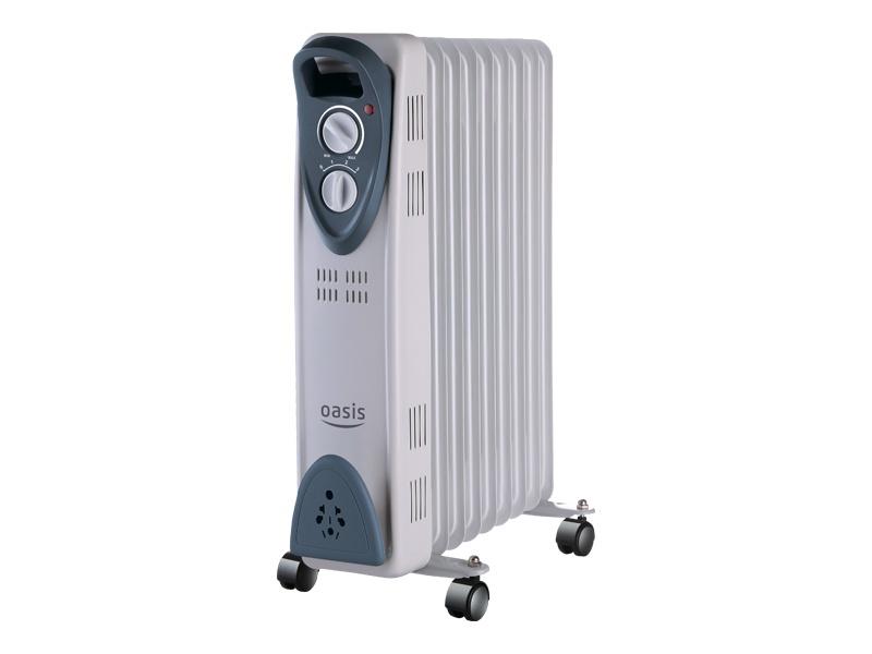 Радиатор масляный Oasis UT-25  (11секц. )  2. 3 кВт OASIS