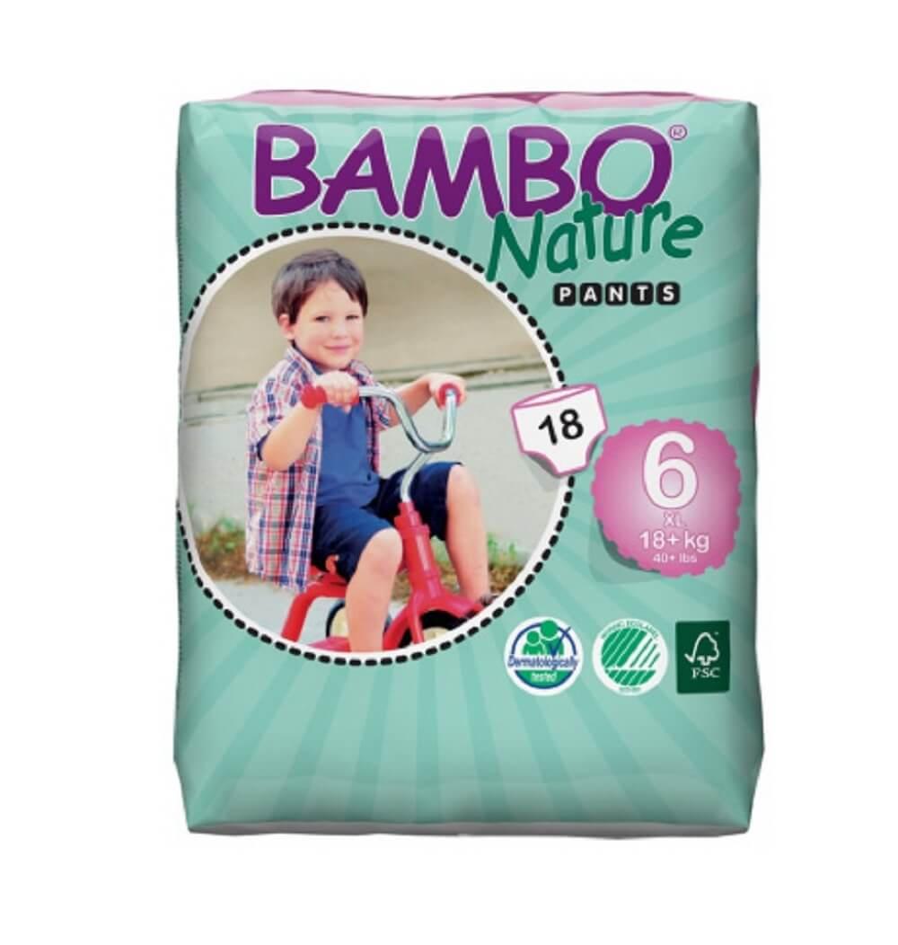 Трусики Bambo Nature XL Plus 18+ кг (18 шт)