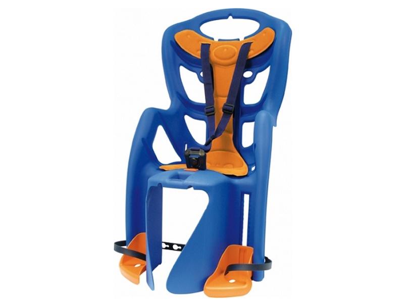 BELLELLI Сидение заднее Pepe Standard, синее с красной вставкой до 22кг цены