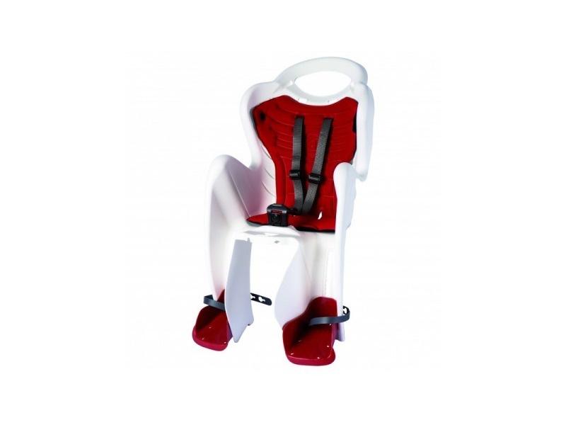 BELLELLI Сидение заднее Mr Fox Standard B-Fix, белое с красной вставкой, до 22кг цены