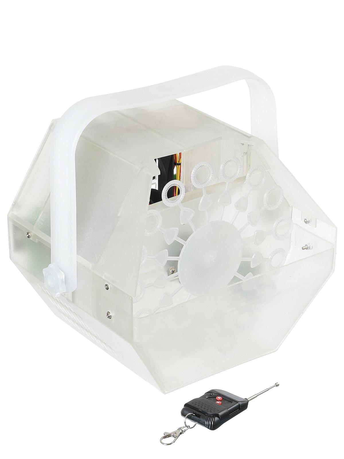 X-POWER X-021A LED REMOTE- Генератор мыльных пузырей со светодиодной подсветкой, беспроводной пульт в комплекте