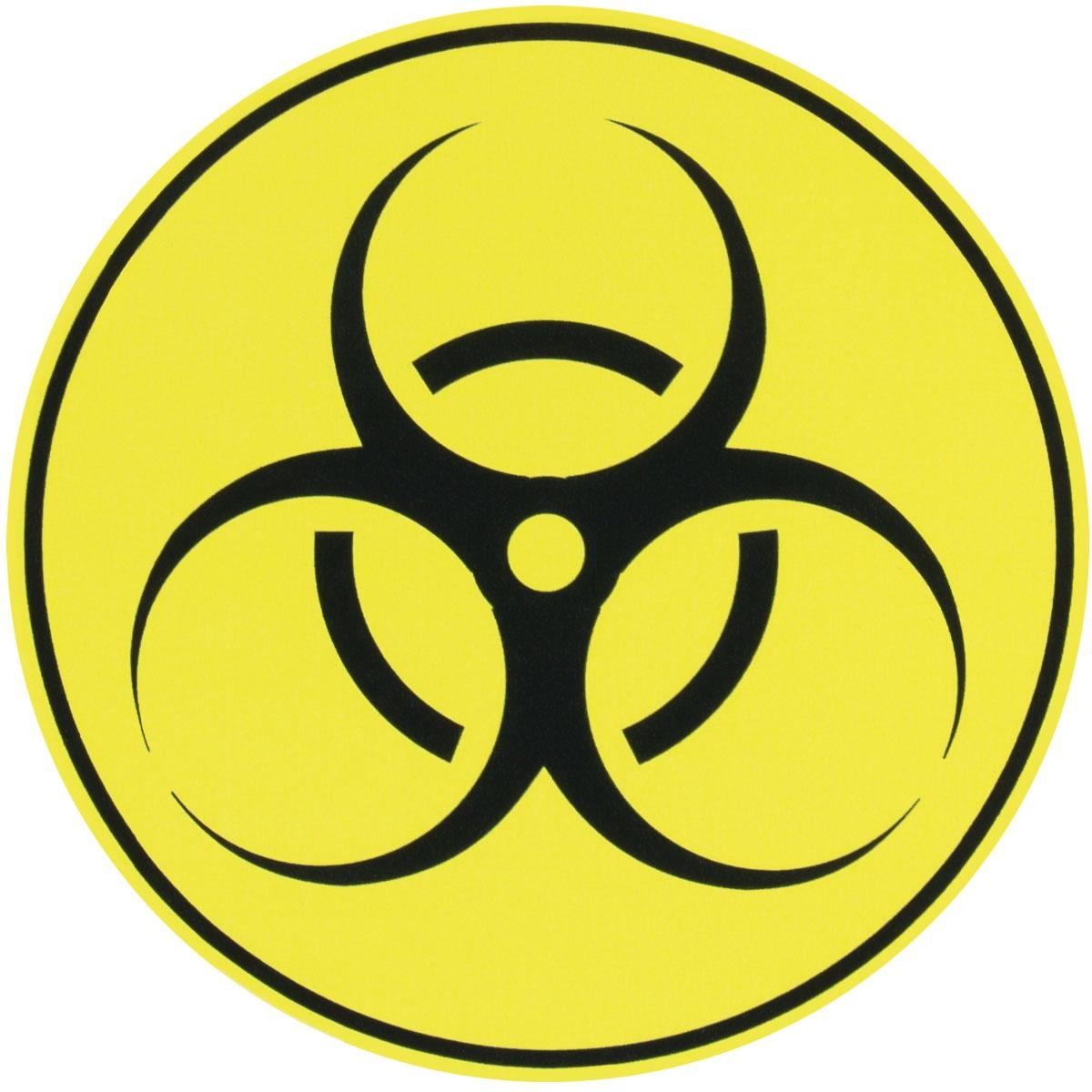 Наклейка на автомобиль Бактерия виниловая 12х12 для автомобиля или на автомобиль