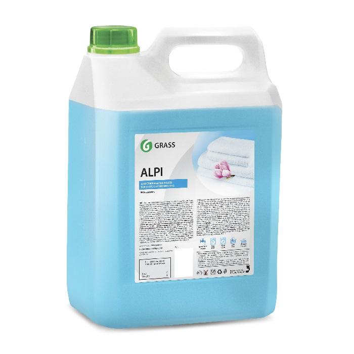 Гель для стирки GraSS Alpi White 5 л средство для стирки цветного белья alpi 1 5 л гель концентрат 1 6 grass