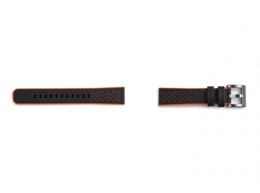 Ремешок Braloba Hybrid Sport для Galaxy Watch (42мм)/Gear Sport оранжевый (GP-R600BREEAAC) ремешок samsung для samsung galaxy watch 46мм samsung gear sport серый