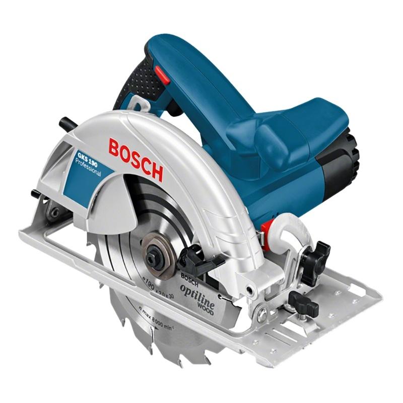 Пила циркулярная Bosch GKS 190 пила циркулярная bosch gks 55 g 0 601 682 000
