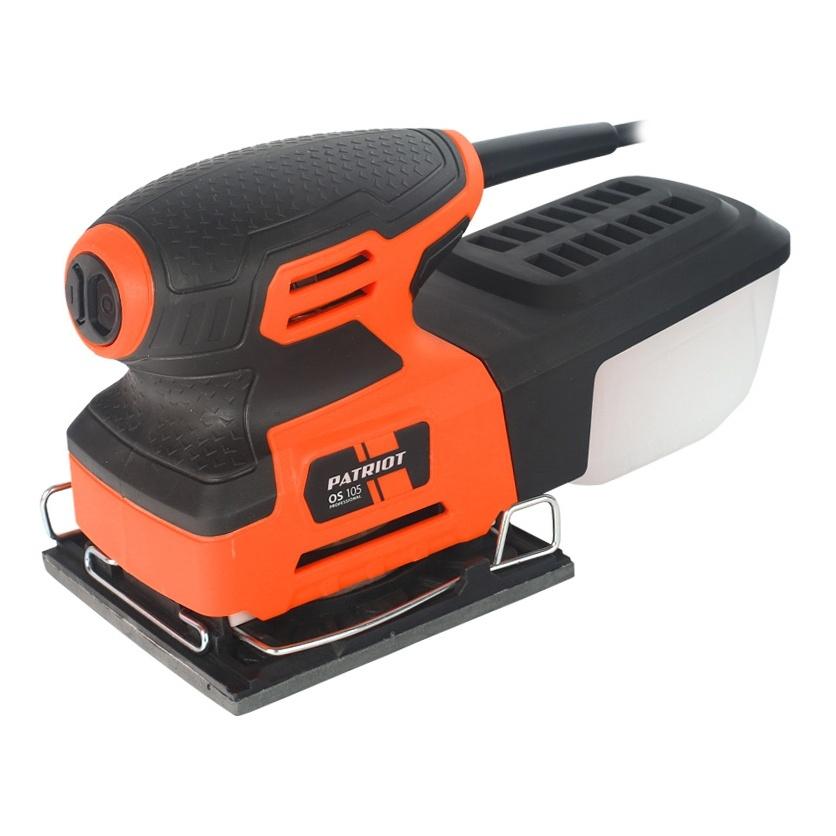 Машина шлифовальная вибрационная PATRIOT OS 105 машина шлифовальная вибрационная stomer sfs 223