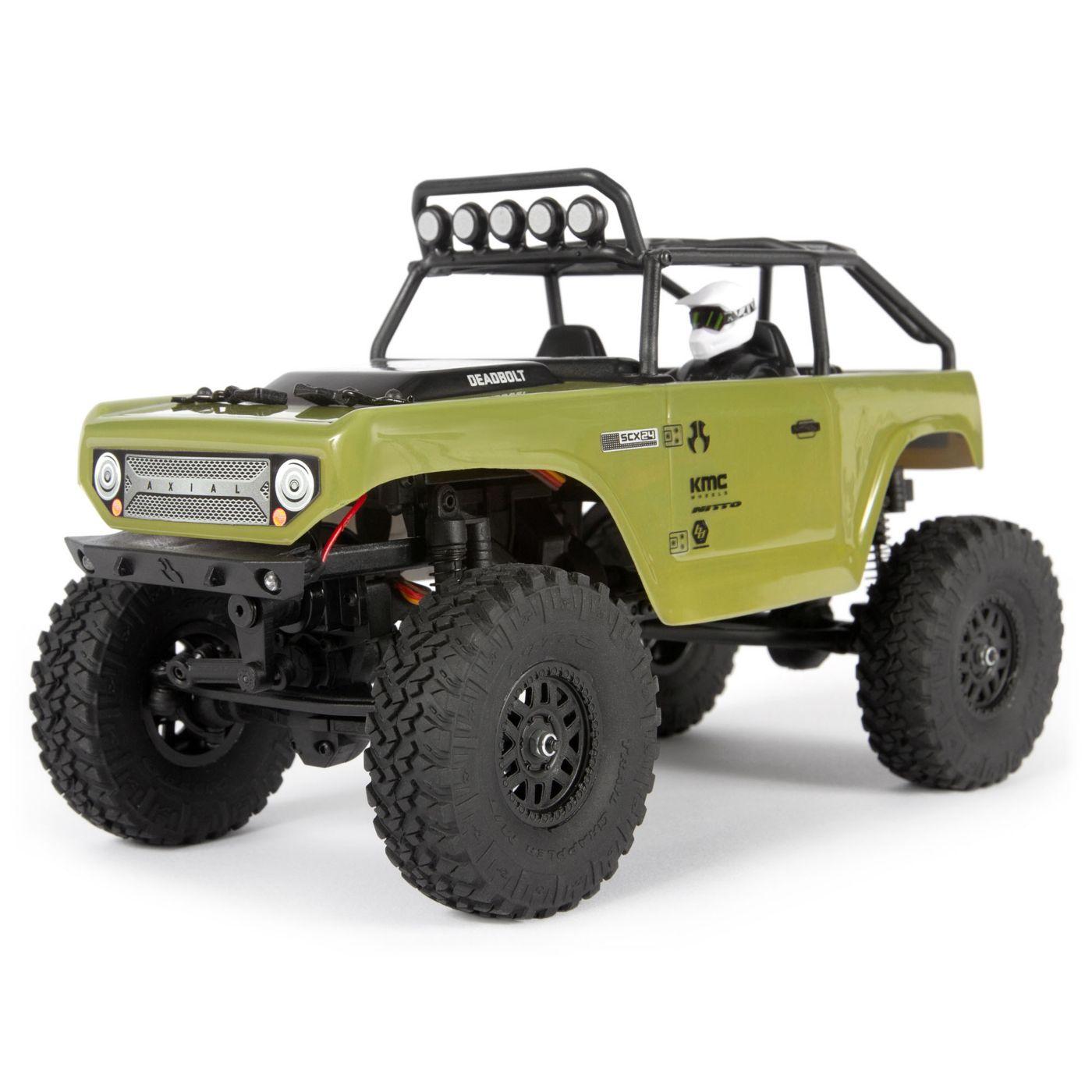 Модель для трофи Axial SCX24 Deadbolt 4WD 1:24, электро, RTR