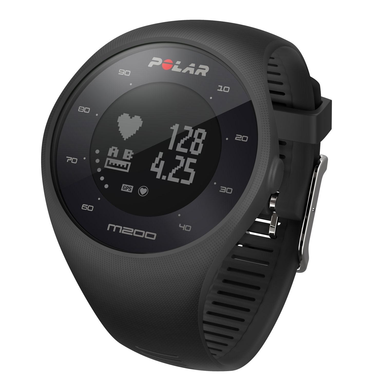 Спортивные часы Polar M200 черный M/L polar a300 hr черный часы