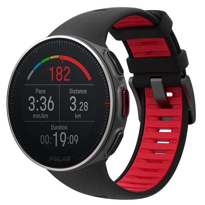 Спортивные часы Polar Vantage V Titan, черный polar a300 hr черный часы