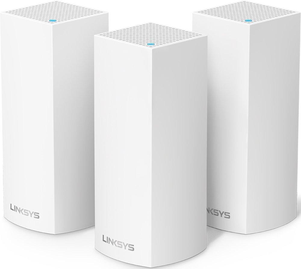 Комплект роутеров для полного покрытия дома Linksys AC2200 3PK VELOP Whole Home Mesh Wi-Fi System