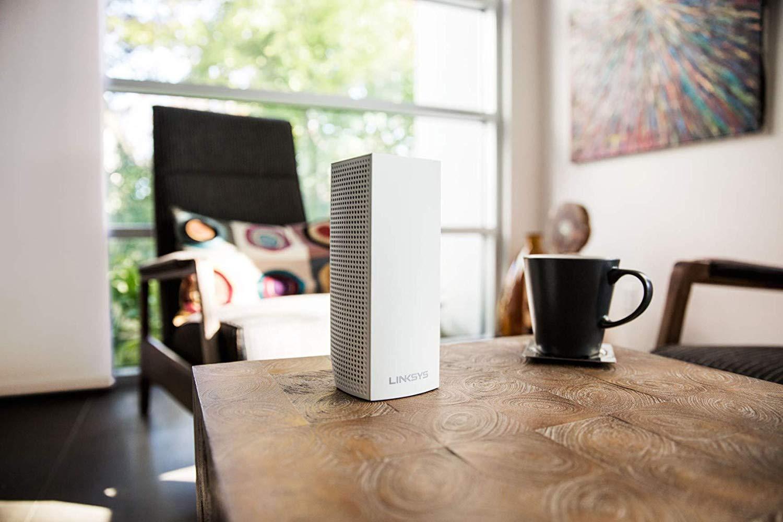 Комплект роутеров для полного покрытия дома Linksys AC2200 3PK VELOP Whole Home Mesh Wi-Fi System Linksys