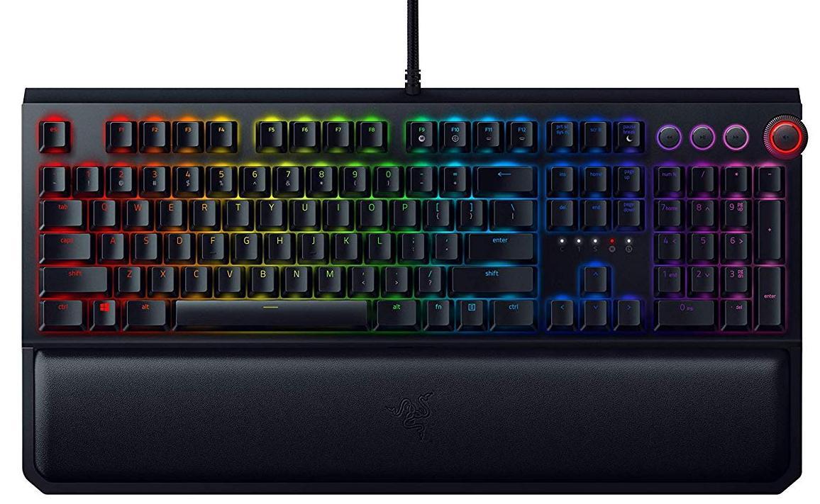 Клавиатура Razer BlackWidow Elite - Mechanical Gaming Keyboard Russian Layout (Yellow Switch)
