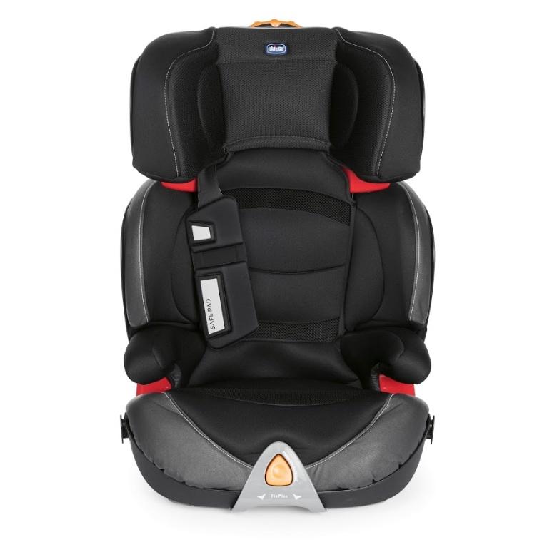Chicco Автокресло OASYS 2-3 FixPlus Evo (Гр. 2/3) Jet Black автокресло 3 категории