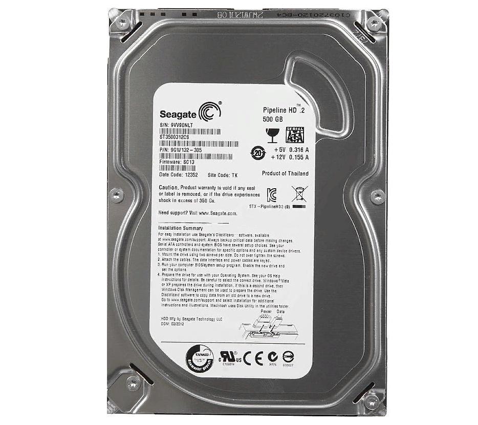 Фото - Жесткий диск Seagate 500GB ST3500312CS мультимедийные центры