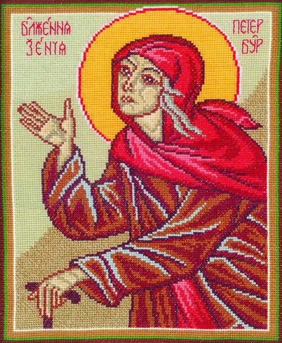 Набор для вышивания РТО Блаженная Ксения Петербургская (22,5 х 27 см. ) набор для вышивания крестом рто 3 5 х 5 5 см fa012