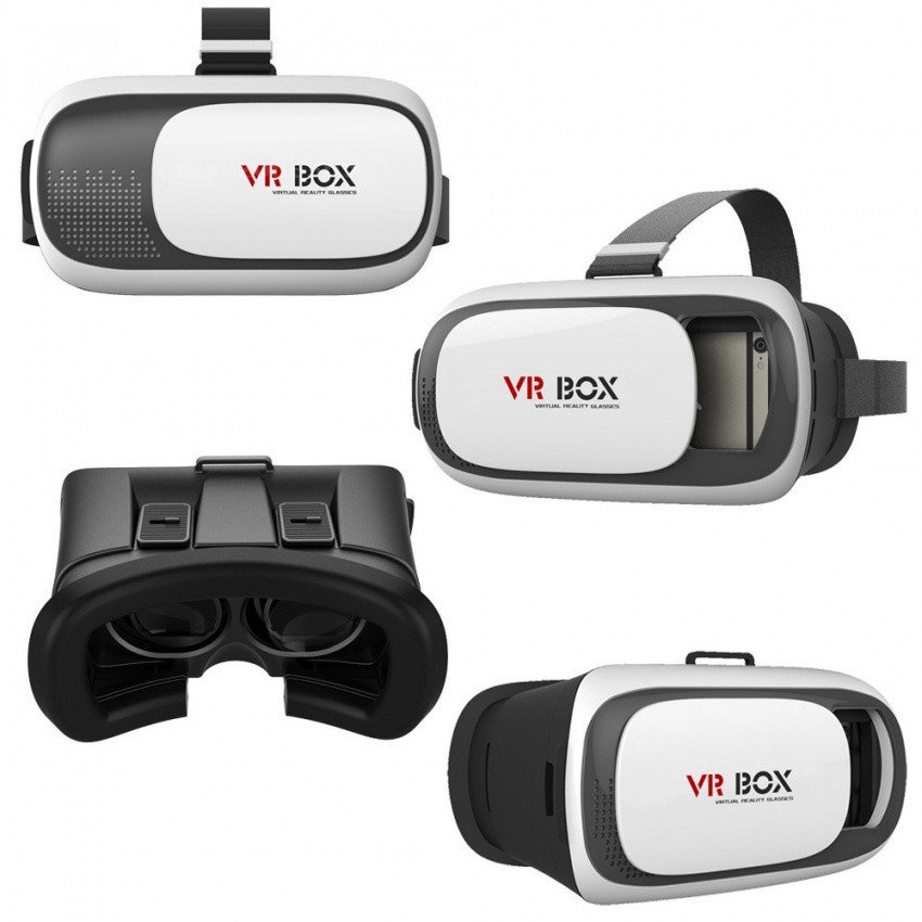 Очки виртуальной реальноcти для смартфонов VR BOX VR-BOX mini foldable 3d vr glasses for smartphone