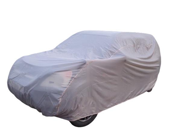 Фото - Тент чехол для внедорожника и кроссовера, ЭКОНОМ плюс для Hyundai Santa Fe 2012-н.в. авто