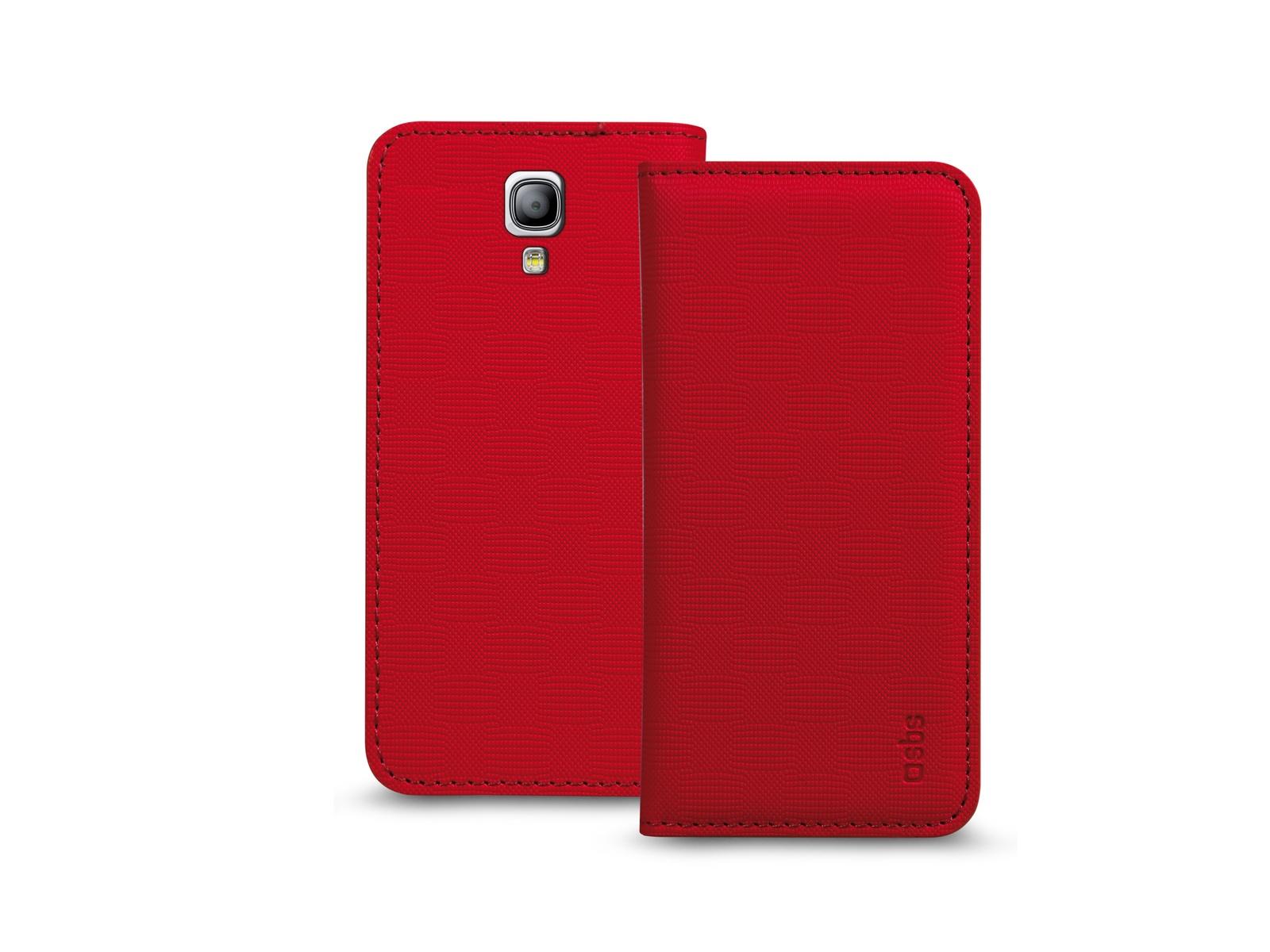 Чехол-книжка SBS для Samsung Galaxy S4 Mini (Bookstyle, красный)