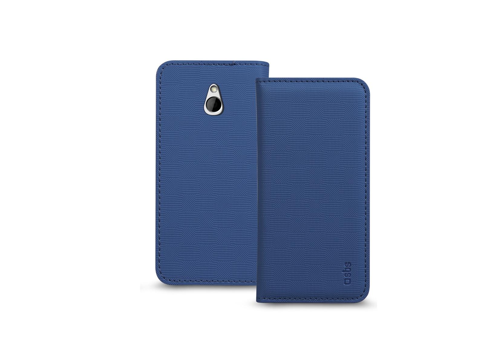 Чехол-книжка SBS для HTC One Mini ( Bookstyle, темно-синий) аккумулятор для телефона craftmann b0p6m100 для htc one mini 2 m5 one m8 mini one remix