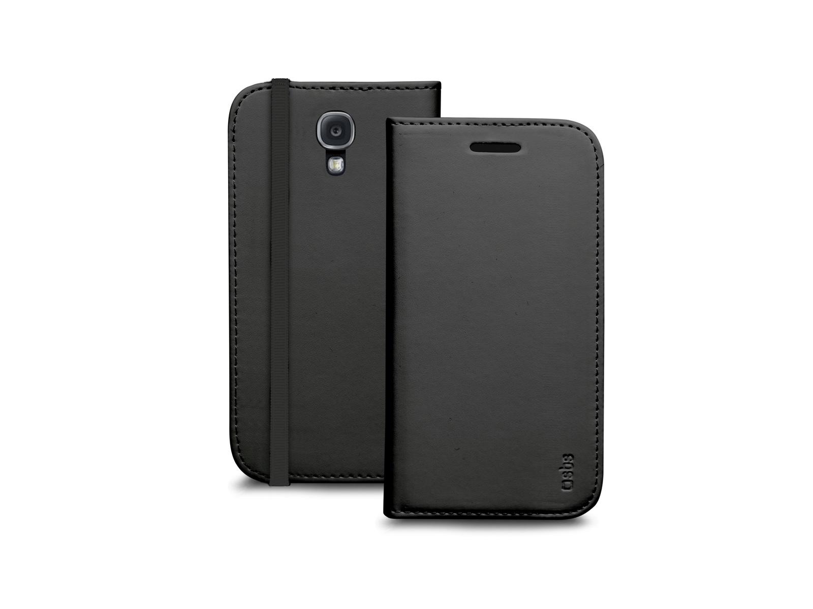 Чехол-книжка SBS для Samsung Galaxy S4 Mini (Booklet, черный)