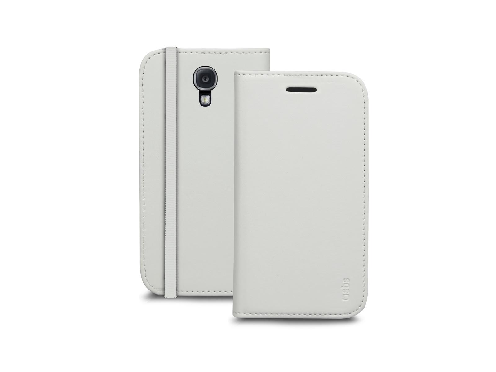 Чехол-книжка SBS для Samsung Galaxy S4 Mini (Booklet, слоновая кость)