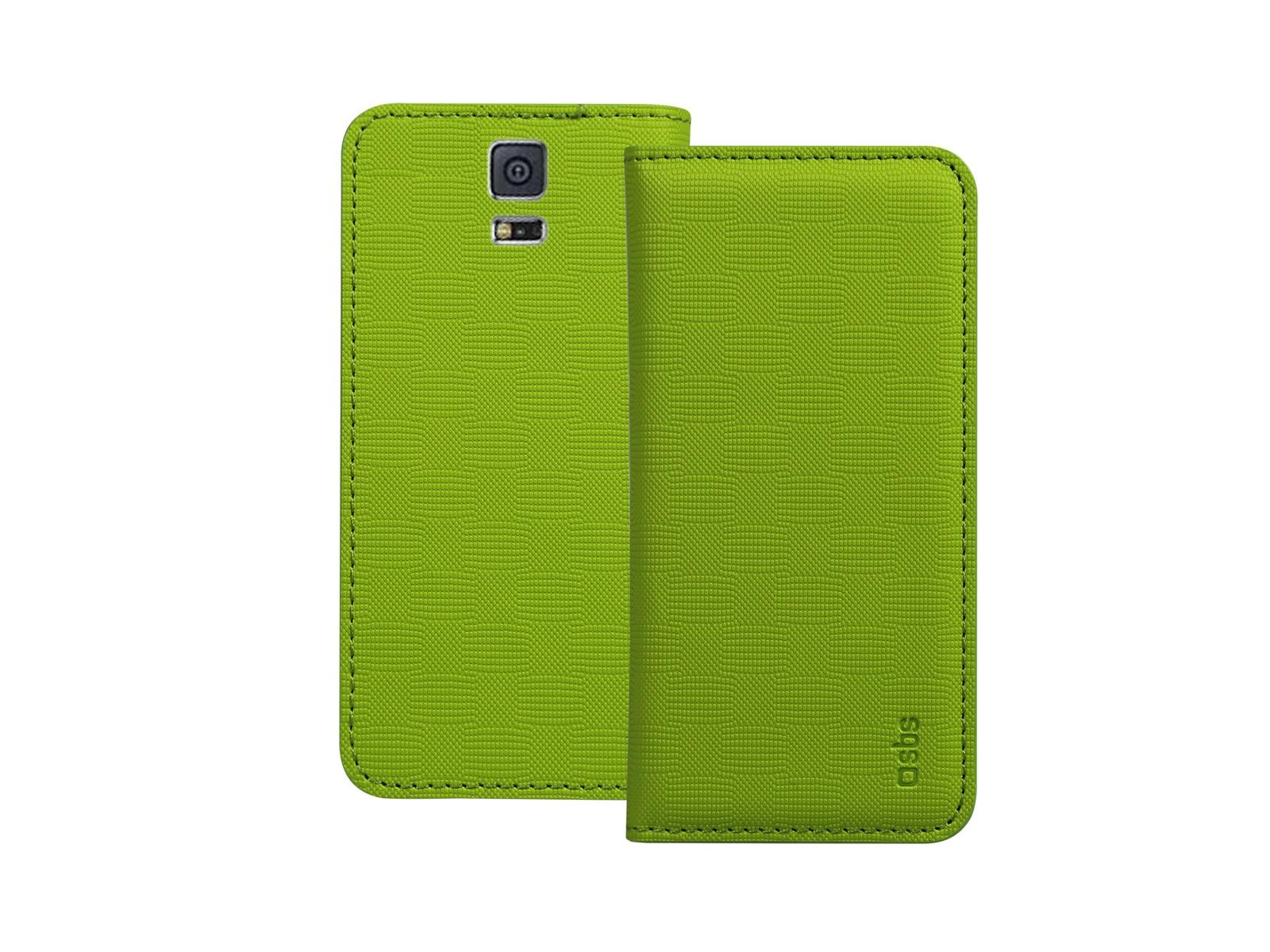 Чехол-книжка SBS для Samsung Galaxy S5 Mini (Bookstyle, салатовый)