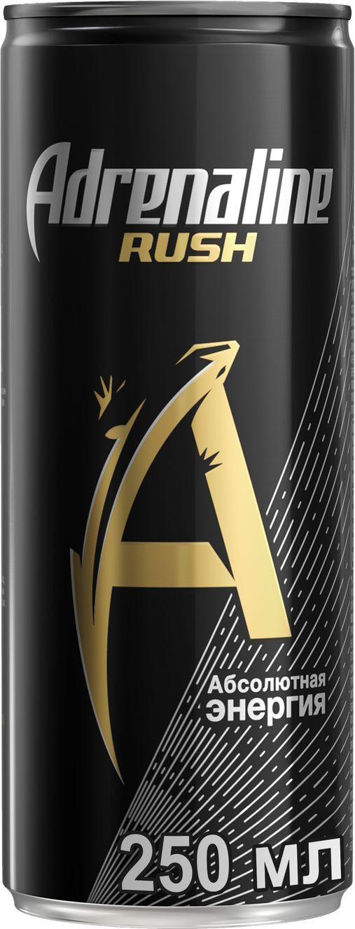 лучшая цена Adrenaline Rush энергетический напиток, 0,25 л