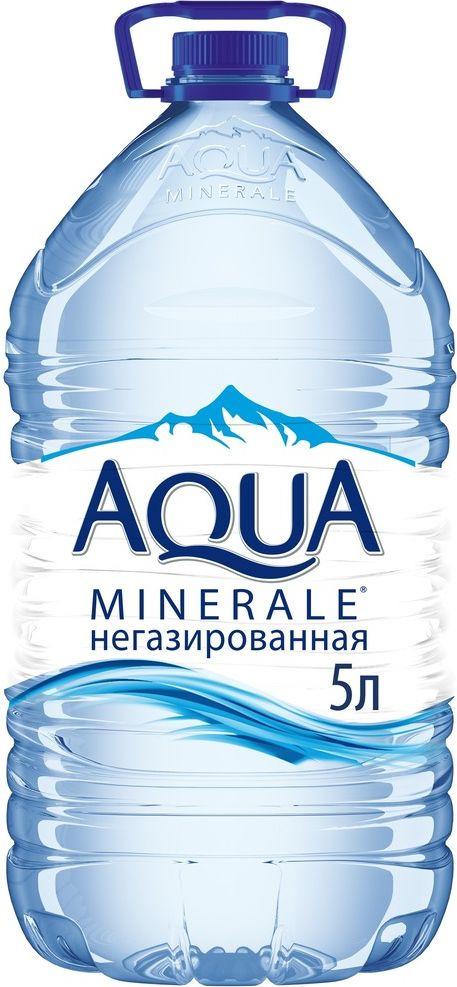 Aqua Minerale вода питьевая негазированная, 5 л
