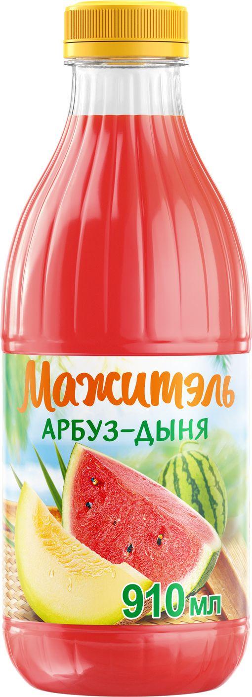 Напиток сывороточный арбуз-дыня Мажитэль J7, 950 г