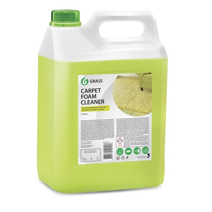 цена на Очиститель ковровых покрытий GraSS Carpet foam cleaner 5 л