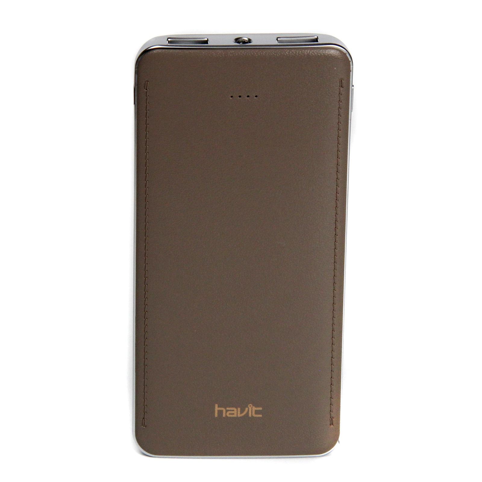 Аккумулятор внешний HAVIT Power Bank HV-PB005X 10000 mAh, gun colour