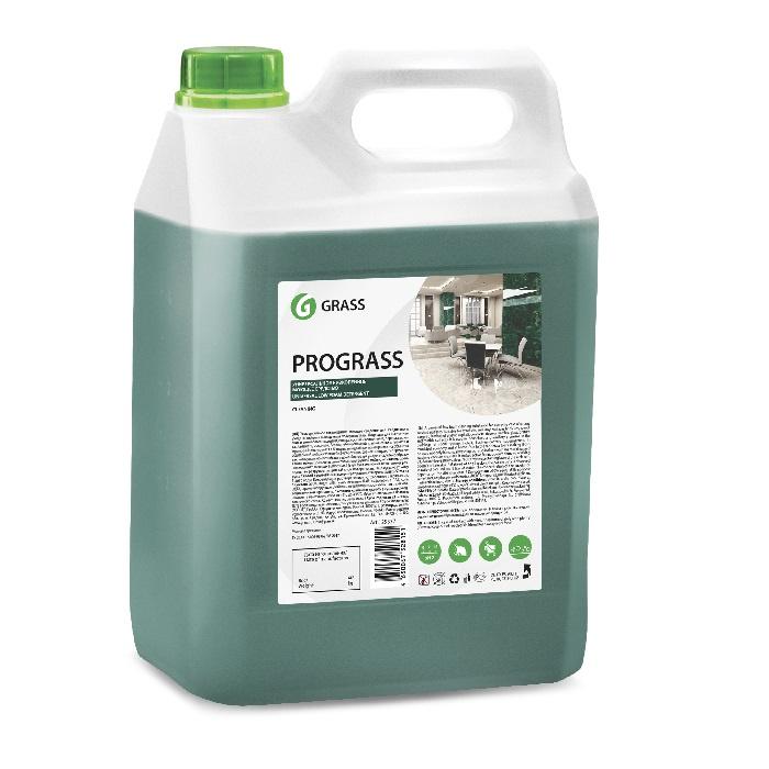 Универсальное низкопенное моющее средство Grass Prograss, 5 л моющее средство 100