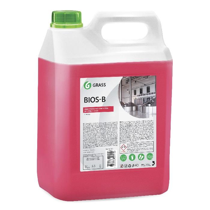 Универсальное пенное моющее средство Grass Bios B, 5,5 л универсальное моющее средство для поверхностей 1л