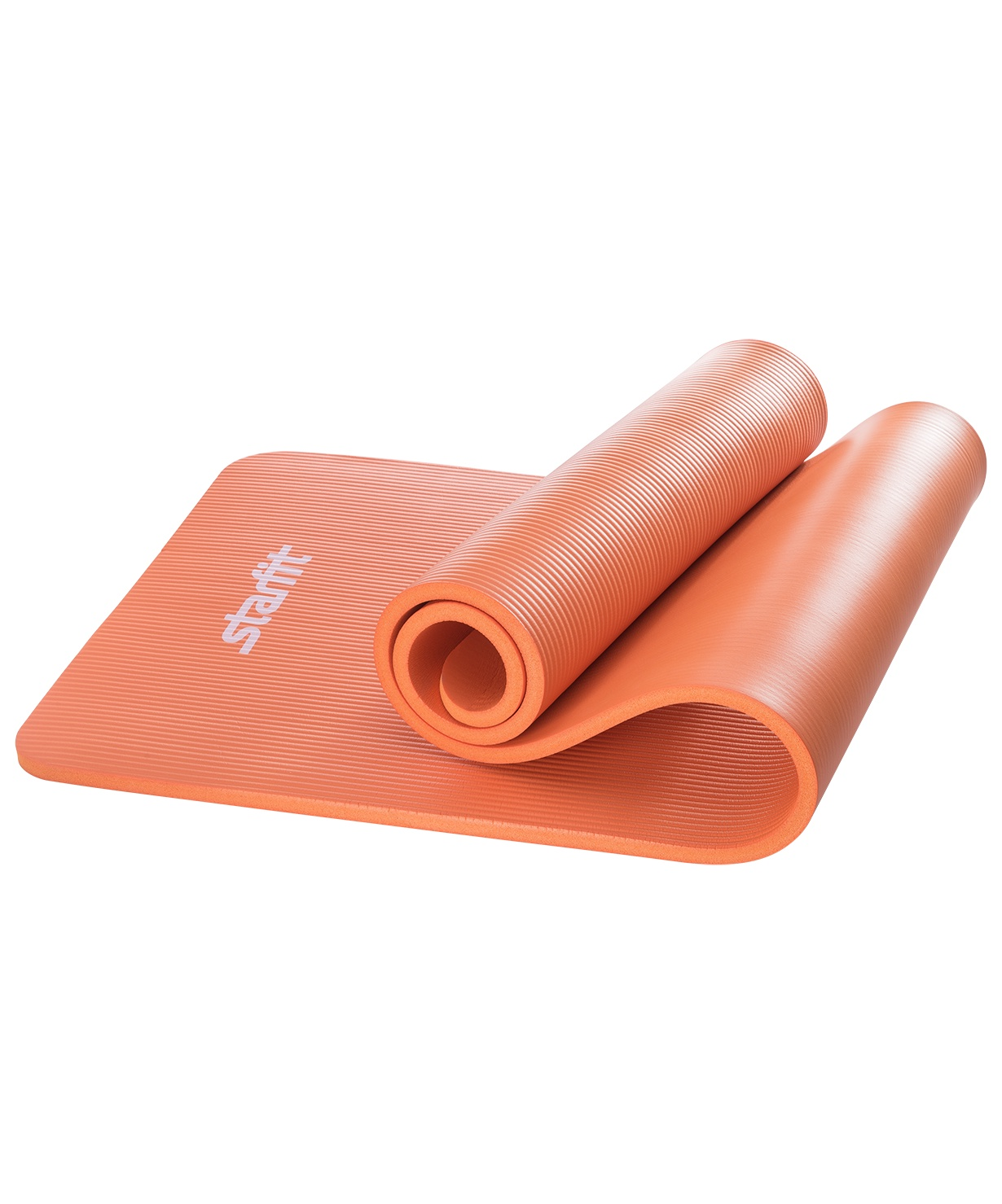 Коврик для йоги STARFIT FM-301 NBR 183x58x1,5 см, оранжевый