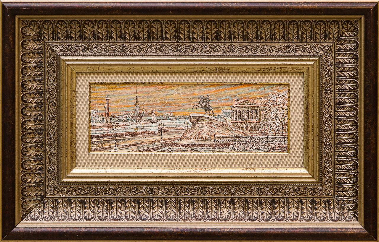 Картина Санкт-Петербург. Медный Всадник зимой... Скрябин а скрябин 2 ноктюрна op 5