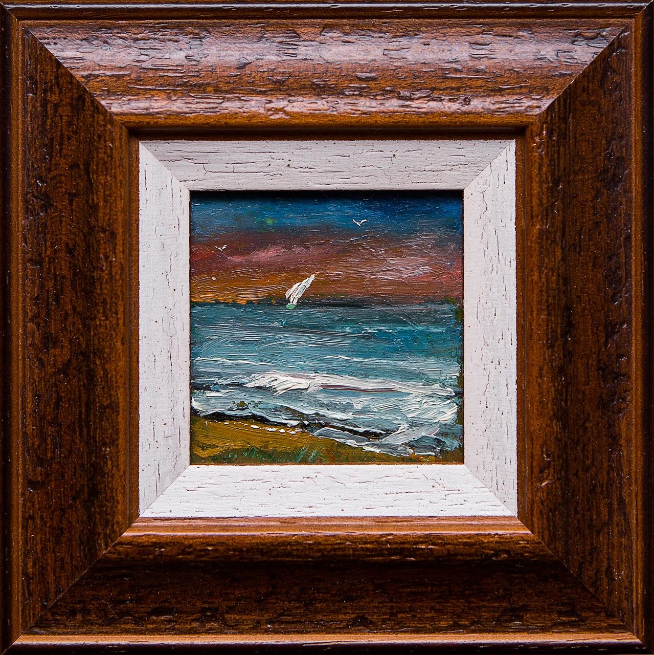 Картина маслом Парус Мифтахов картина маслом подсолнухи мифтахов