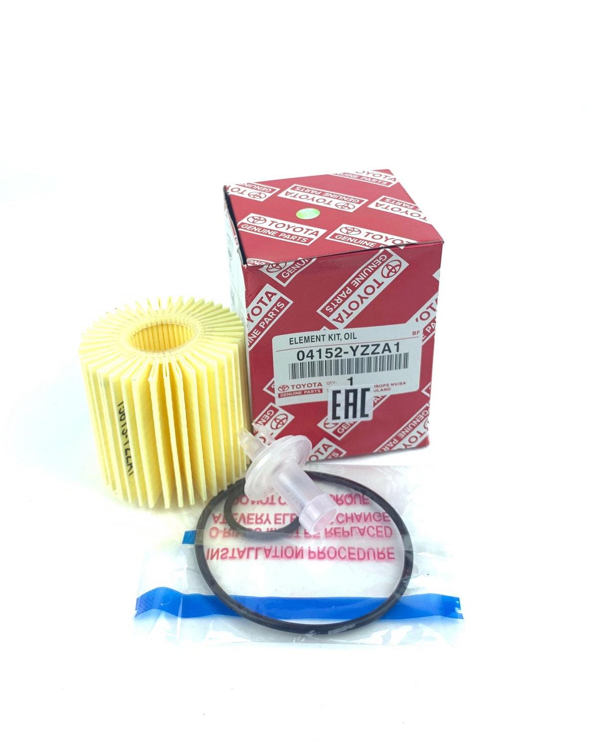 Масляный фильтр Toyota 04152-YZZA1 валик fit 04152