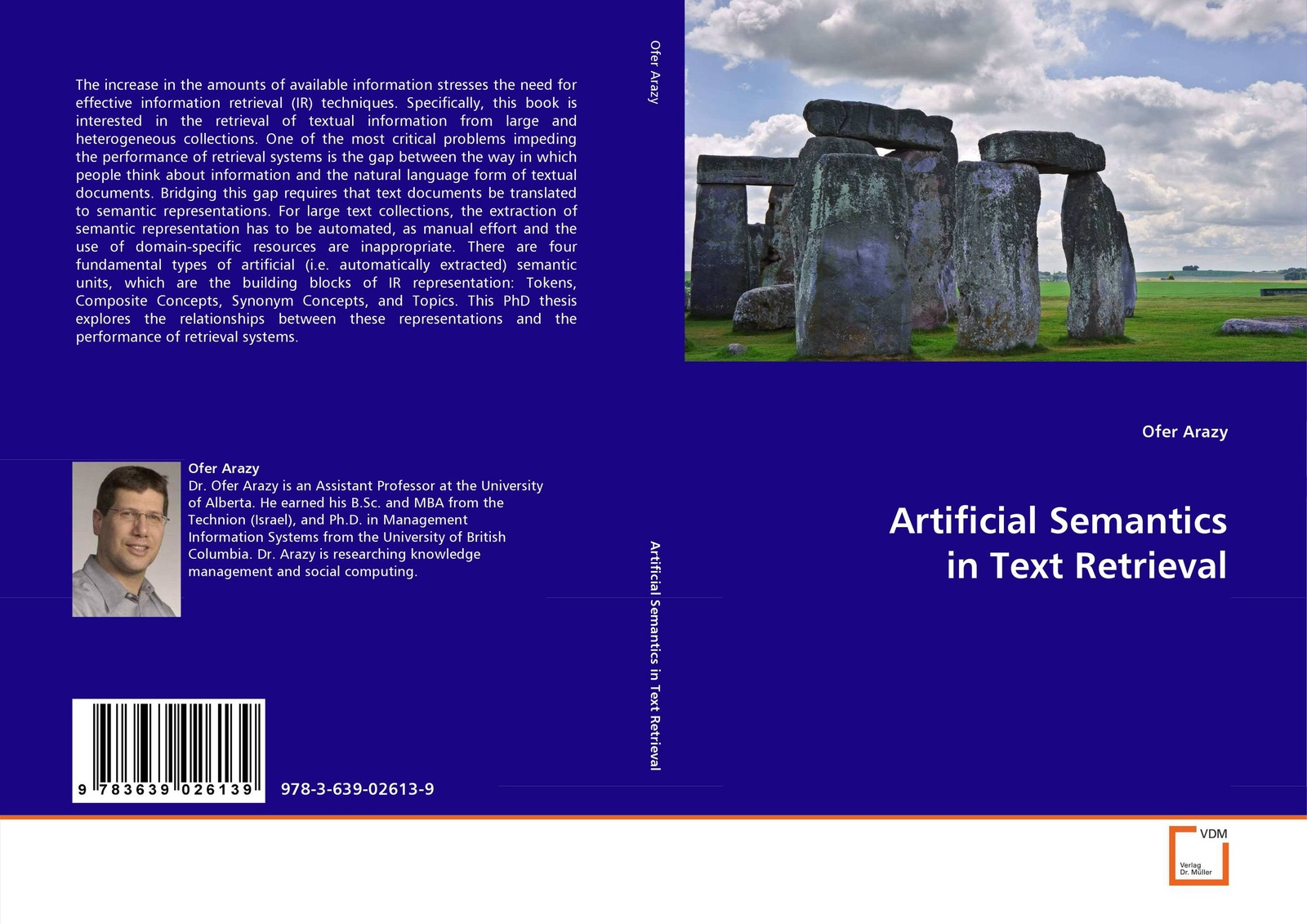 Ofer Arazy Artificial Semantics in Text Retrieval torsten grabs t grabs storage and retrieval of xml documents with a cluster of database systems