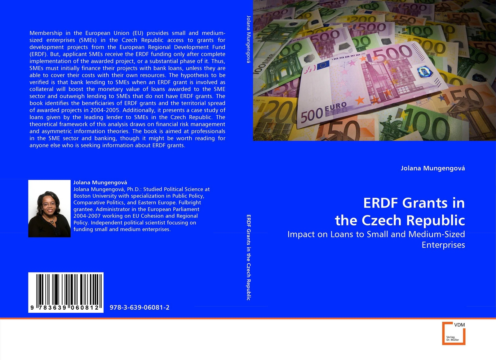 JOLANA MUNGENGOVÁ ERDF Grants in the Czech Republic whether profit is the only determinant of performance a study on smes