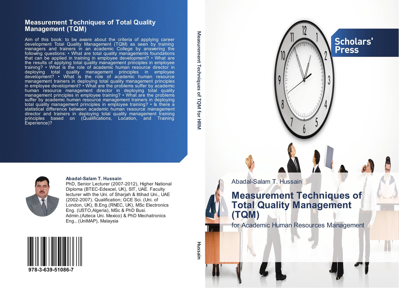 Abadal-Salam T. Hussain Measurement Techniques of Total Quality Management (TQM) abadal salam t hussain measurement techniques of total quality management tqm