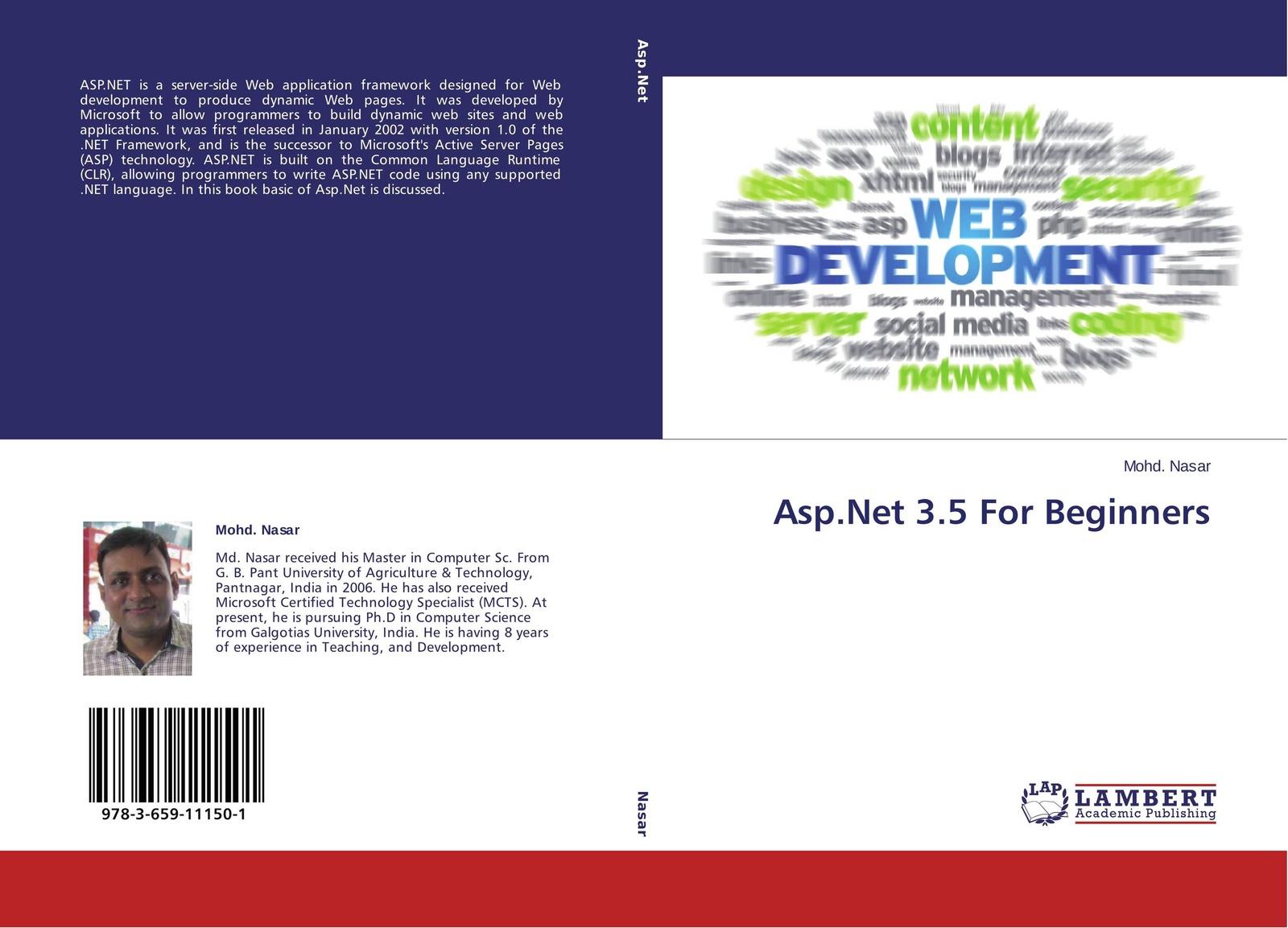 Mohd. Nasar Asp.Net 3.5 For Beginners gil fink ido flatow pro single page application development using backbone js and asp net